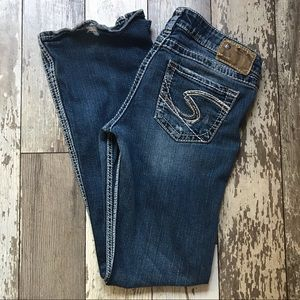 Silver Jeans Co Twisted bootcut jeans Sz 27 x 33